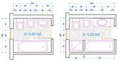 esempio dimensioni sanitari bagno | Baños | Pinterest | Exterior ...