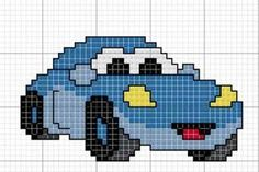 This Pin was discovered by Kad Cross Stitch For Kids, Cross Stitch Cards, Simple Cross Stitch, Cross Stitch Baby, Cross Stitching, Cross Stitch Embroidery, Knitting Patterns Boys, Knitting Charts, Baby Patterns