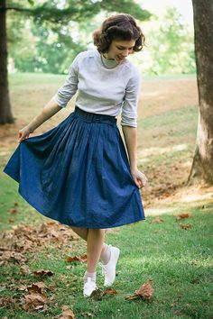Sister Flair // Autumnal Essence, The Boyer Sisters, Sister Style, Meadowland Designs, Jewelry, Vintage Style, Review, Product Review, Modest Style, Christian Modest Fashion, Fashion Bloggers, Etsy Shop, eShakti Skirt