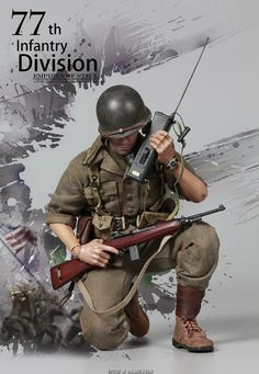 American soldier WW2 Military Diorama, Military Art, American Soldiers, Toy Soldiers, Gi Joe 1, Military Action Figures, Matchbox Art, Military Modelling, Paratrooper