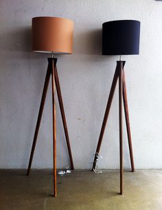 Scandinavian Inspired Lamps - Tripod Lamp