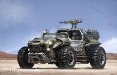 car/concept/composition/color/style/military