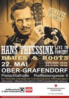 Benefizkonzert mit Hans Theessink