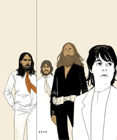 The Beatles by Phil Noto