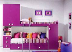 Shan loves this idea for her room. I like it too. She would certainly have enough room for organization.