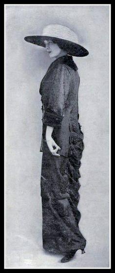 1913 Edwardian Fashion