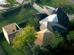 Koda Estonia Pavilion by KUU Architects - News - Frameweb Architecture Today, Pavilion Architecture, Interior Architecture, Interior Design, Sawtooth Roof, Wooden Pavilion, Garden Cabins, Roof Ceiling, Arch House