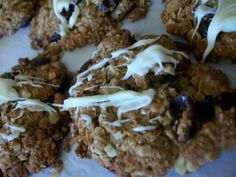 pinterest 365 day 317: a twist to some ANZAC cookies ... these are so delicious we have already had requests for a second batch on ANZAC day :)  wonderful recipe thanks to the cupcake architect blog!