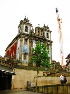 Oporto. Iglesia de San Ildefonso