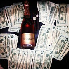 Fine liquer & money...