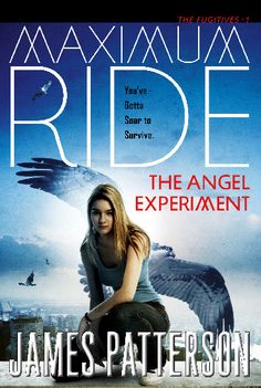 Older cover for Maximum Ride: The Angel Experiment.
