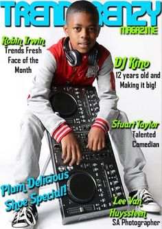 Win Plum shoes & read about the great talents we've featured! DJ Kino is just 12 years old! Fresh Face, 12 Year Old, Comedians, Plum, Dj, Magazine, Reading, Shoes, Clean Face