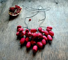 necklace red natural silk cocoon and earrings. red black necklace.  silk cocoons jewelry. necklace silk cocoon necklace silk cocoon red black necklace boho bohemian bohemian jewelry gift for her cocoon necklace handmade jewelry handmade necklace cocoon pendant silk moth cocoon silk cocoon balls silk worm cocoons organic silk 45.00 USD #goriani