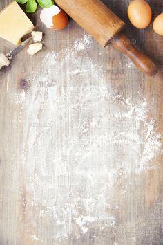 Baking Wallpaper, Food Wallpaper, Wallpaper Ideas, Food Background Wallpapers, Food Backgrounds, Kitchen Background, Rustic Background, Food Menu Design, Food Poster Design