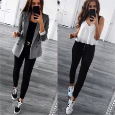 49 Super Ideas for sneakers outfit hijab converse Source by Outfits hijab Semi Casual Outfit Women, Semi Formal Outfits For Women, Cute Casual Outfits, Business Casual Outfits, Professional Outfits, Stylish Outfits, Casual Sneakers Outfit, Cute Sneaker Outfits, Mode Outfits