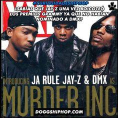 """""""DMX tenía un álbum increíble y no obtuvo una nominación.'' dijo aquella vez JAY Z asegurando que la entrega de premios no respeta al Hip Hop."""