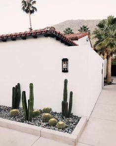 Deck garden – cactus minimalis landscaping tour of la serena villas palm springs on coco kelley landscapegardendesigners – Landscaping Backyard Cheap Landscaping Ideas, Small Backyard Landscaping, Bungalow Landscaping, Desert Backyard, Residential Landscaping, Hillside Landscaping, Farmhouse Landscaping, Driveway Landscaping, Tropical Landscaping