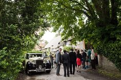 Clare West Photography - Wedding Photography - Oxfordshire Golf Club Wedding - Wedding Car