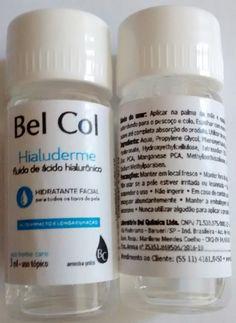 Post do dia: Resenha: Hialuderme, fluido de ácido Hialurônico Bel Col
