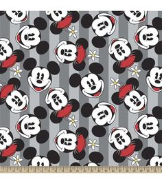 Disney Mickey And Minnie Fleece Fabric