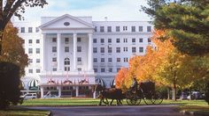 Historic Greenbrier Resort in West Virginia. #Amtrak stops right in front.