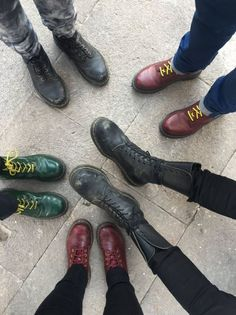 A mix of the 1460 boot and the 1914 boot. Shared by mariedelaos on Twitter.