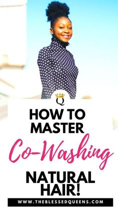 How to Master Co-Washing Natural Hair co-washing natural hair is not the most simple thing to do yet it sounds pretty easy, right? here is how to learn how to co. Shrinkage Natural Hair, Natural Hair Updo, Natural Hair Tutorials, Long Natural Hair, Natural Hair Growth, Natural Hair Styles, Curly Hair Styles, Curly Bangs, Going Natural