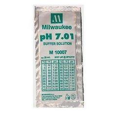 Milwaukee Buffer Solution Ph 7.01 - Lot Of 3 ( M10007 )