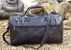 Black Duffle Holdall style 829