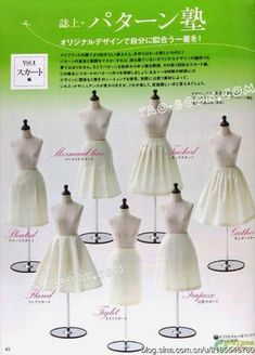 The Dressmaker's Handbook of Couture Sewing T Shirt Sewing Pattern, Dress Sewing Patterns, Clothing Patterns, Sew Pattern, Pattern Skirt, Skirt Patterns, Shirt Patterns For Women, Couture Sewing Techniques, Pattern Drafting Tutorials