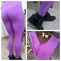 Calça legging fitness suplex detalhe fecho dourado perna www.candyshape.com.br