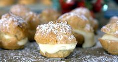 This easy Bavarian Cream Puff recipe is a keeper. The classic cream puffs turn out every time, and are filled with an easy Bavarian cream knockoff recipe.