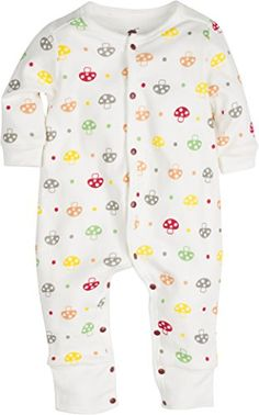 Winter CaliforniaTM 100 Cotton 2Layer Cool Weather Baby Pajamas Sleeper 1218 months Mushrooms ** Learn more by visiting the image link. (This is an affiliate link) #BabyBoySleepwearandRobes