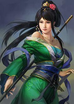Guan Yinping - The Koei Wiki - Dynasty Warriors, Samurai Warriors, Warriors Orochi, and more