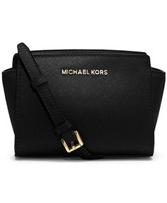 OBSESSED with this  Michael Kors Handbag Selma Mini Messenger. Dying to add it to my collection!