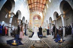 Abbazia di Sant'Andrea in Flumine, Ponzano Romano (Roma) The Wedding Italia