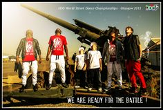 Ready for the battles in Glasgow at the UDO World Street Dance Championships.