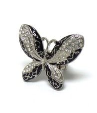Butterfly ring  Buy it here:http://www.sassnfrass.net/#Lorissaleigh