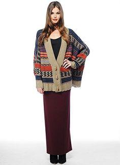 BB Dakota aztec sweater (I wear it better;)