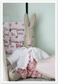Oh how I love my collection of Maileg bunnies and mice in my shop!
