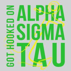 Alpha Sigma Tau, Sorority, Anchor Design, T-Shirt  *All designs can be customized for your organization or chapter's needs!