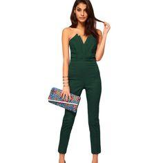 Culoarea ta preferata este verde? Atunci trebuie sa ai in garderoba ta cel putin o salopeta eleganta verde!