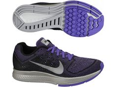 The Nike Zoom Structure 18 FLash Ladies Running Shoes will leave your competitors behind, day or night. With reflectivity for low-light runs, Nike Air Zoom Structure 18 Flash Women's Running Shoe now has 3 foam densities to slow your rate of pronatio Nike Zoom, Lady, Running Shoes, 18th, Sneakers Nike, Purple, Women, Fashion, Runing Shoes