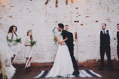 Seriously Pretty Nature-Inspired Rooftop Wedding