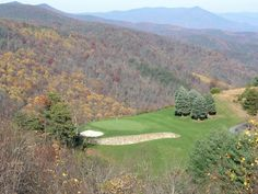 Old Beau in Roaring Gap, NC. Awesome to play in the Blue Ridge Mountains in the fall.