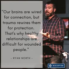 Our brains are wired for connection. Trauma rewires them for protection. - Our brains are wired for connection. Trauma rewires them for protection. Trauma Therapy, Psychology Facts, Healthy Relationships, Relationship Tips, Self Help, Quotations, Wise Words, Life Quotes, Daily Quotes