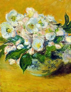 Christmas Roses, 1883 - Claude Monet