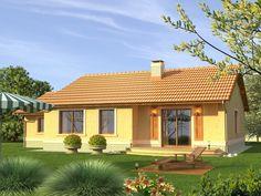 DOM.PL™ - Projekt domu KR FIGARO 2G CE - DOM KR3-96 - gotowy projekt domu