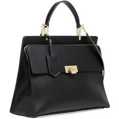 Balenciaga Le Dix Zip Cartable Black