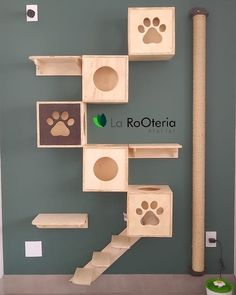 Cats house cnc ideas for 2019 Cat Walkway, Cat Wall Shelves, Cat Hotel, Diy Cat Tree, Cat Hacks, Cat Towers, Cat Playground, Animal Room, Cat Room